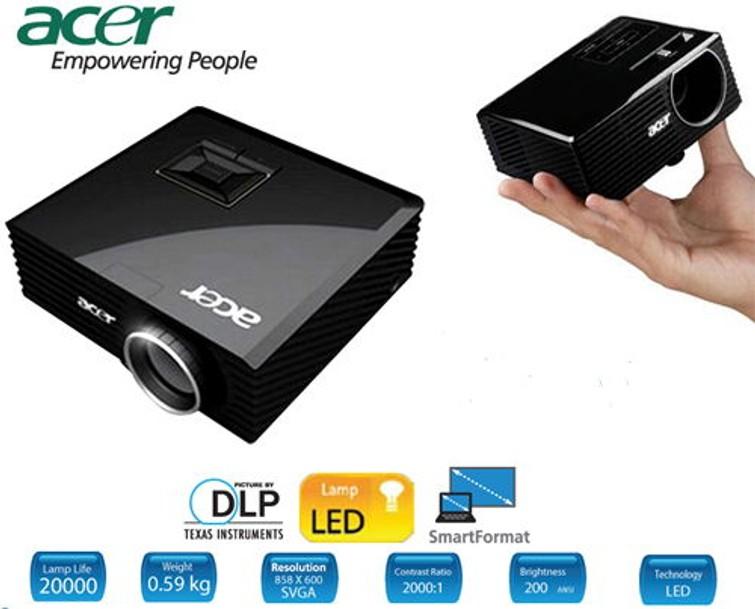 Beamer met HDMI aansluiting