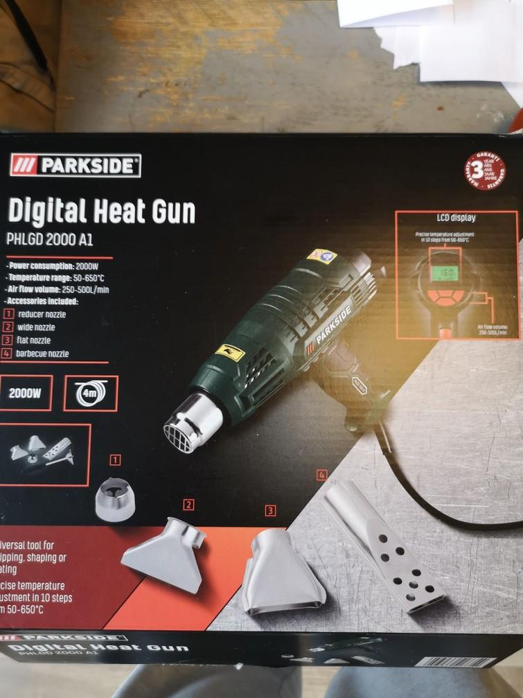 Digitale heat gun