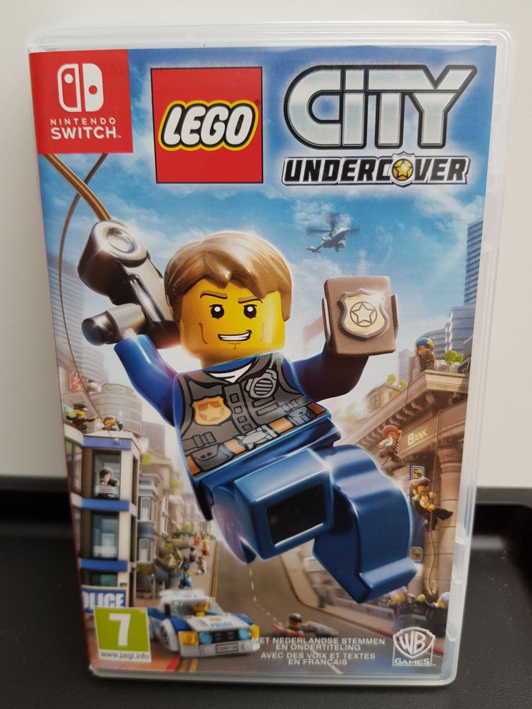 Nintendo Switch Game Lego City Undercover