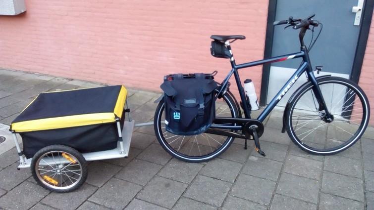 Ruime bagage fietskar