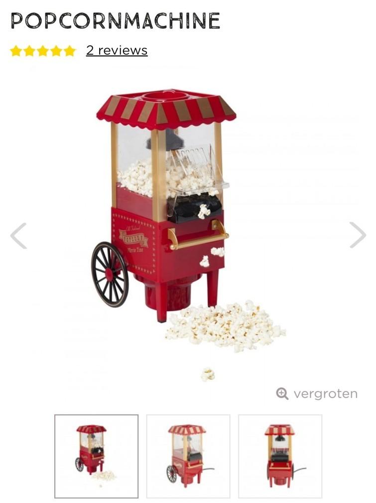 Kleine popcornmachine