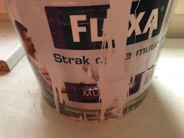 Flexa muurverf - licht blauw 1 a 2 liter