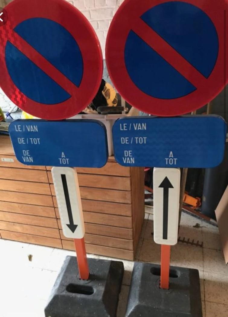 parkeerverbodsborden