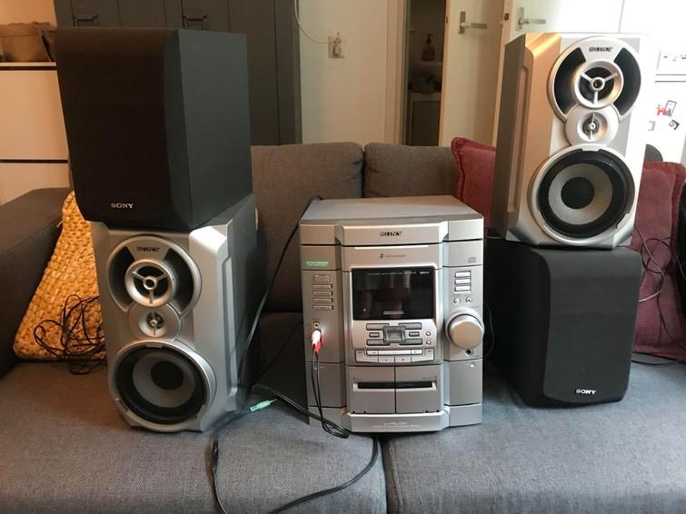 Stereo installatie/speaker set