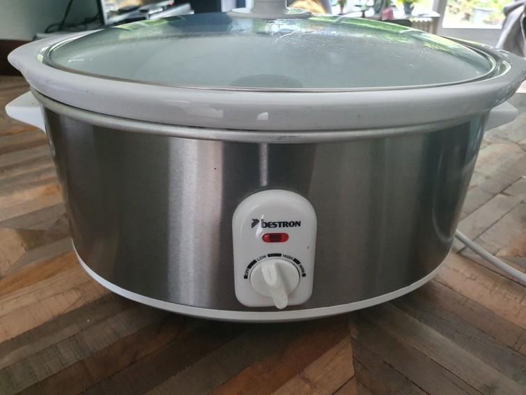 Slowcooker 6,5 liter van Bestron