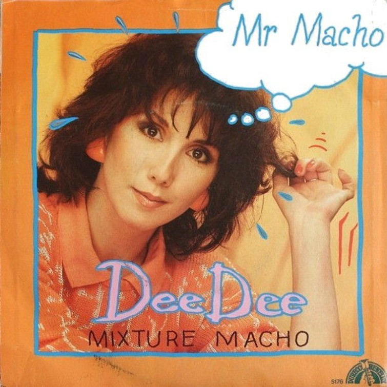 Dee Dee - Mr. Macho (Vinyl Single) 1986.  45 Toeren plaat