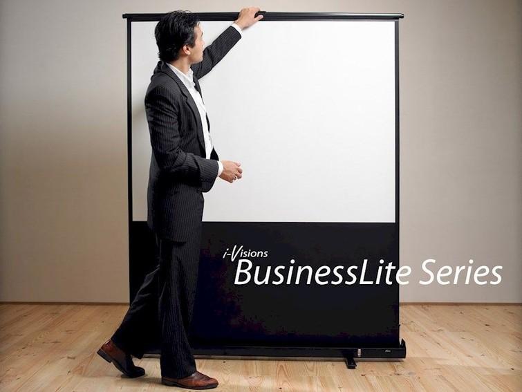 ⭐️ BusinessLite Series Pull Up Projectiescherm 180cm x 113cm (16:10) + draagtas op wielen ⭐️