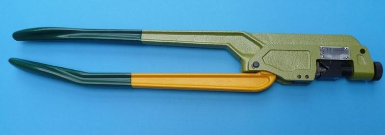 Zware krimptang voor kabelschoen/kabeloog 16-120 mm2