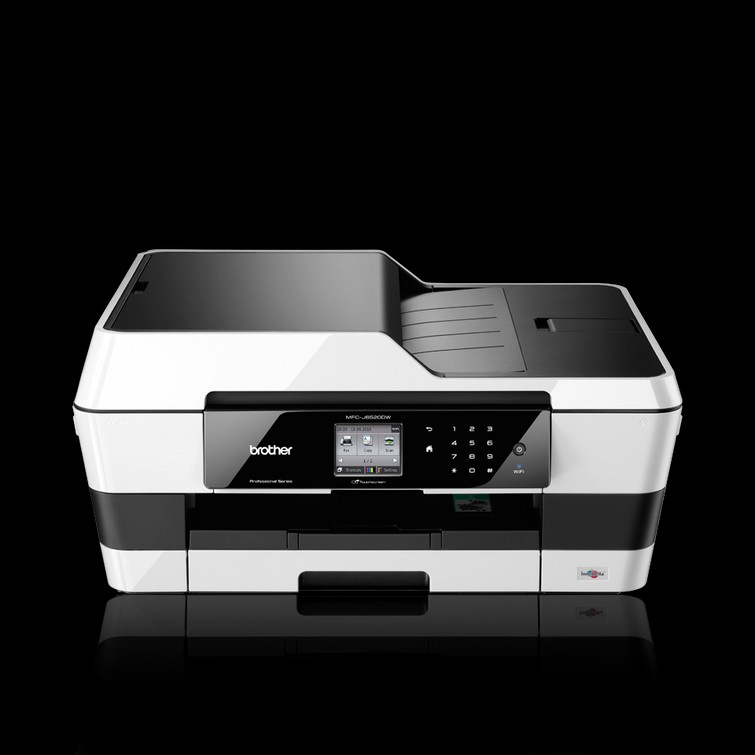 ⭐️ Brother Draadloze Inktjet All-in-one A3 printer mfc-j6520dw + Volle inktcartridges ⭐️