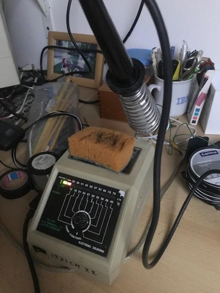 soldeerstation traploos regelbaar