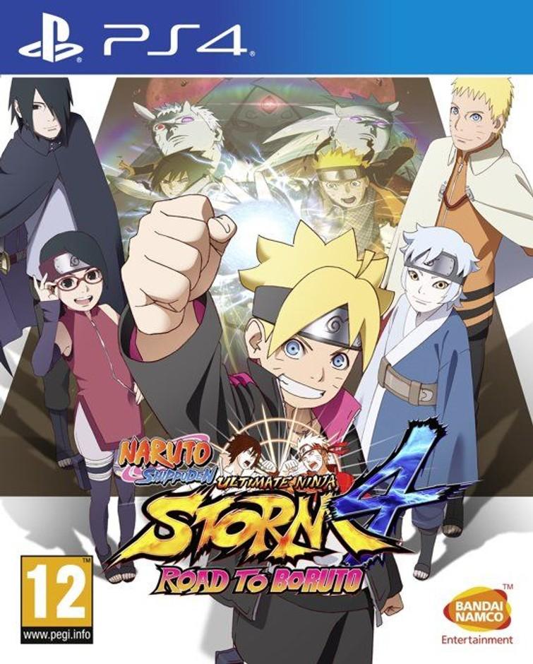 PS4 - Naruto Ultimate Ninja Storm 4 Road To Boruto
