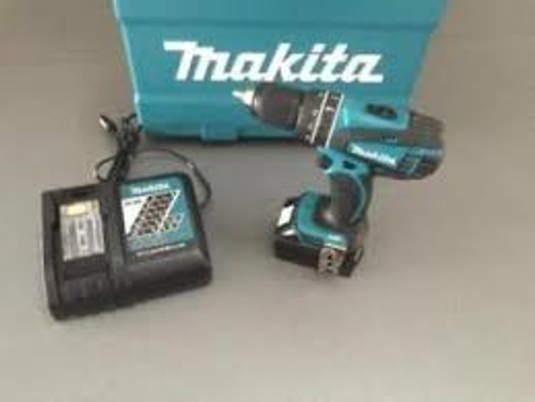 Makita accu boor 18 volt, gloednieuw