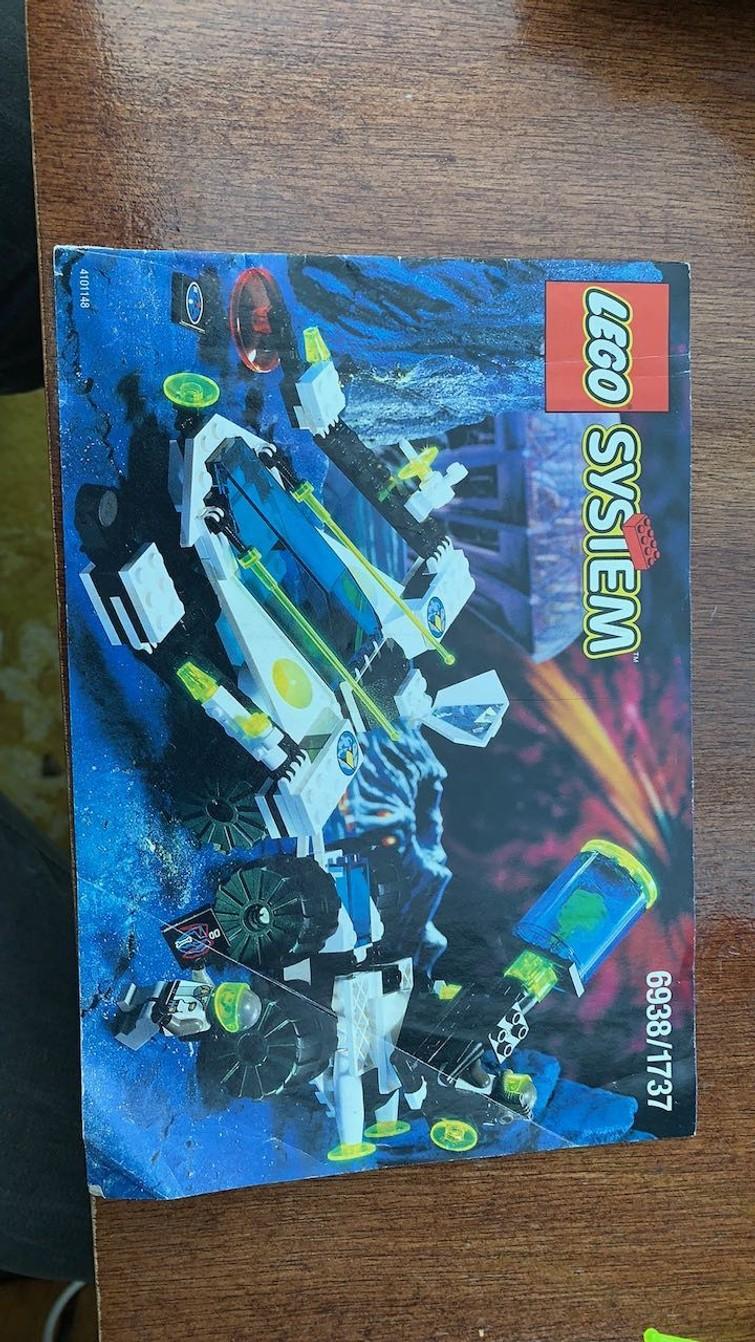 Lego 6938 Explorer Scorpion Detector uit 1996