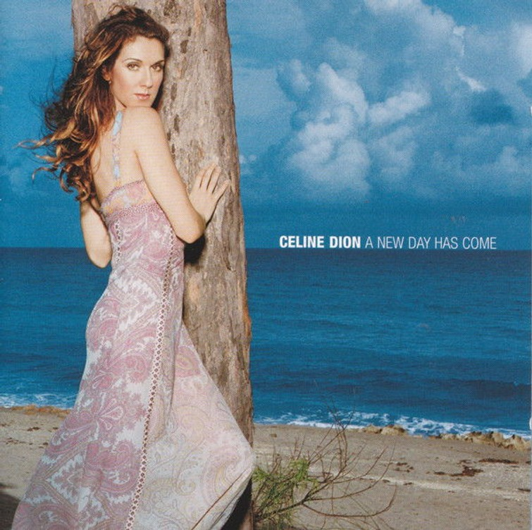 Celine Dion - A New Day Has Come (Album CD) 22 Maart 2002. - CD