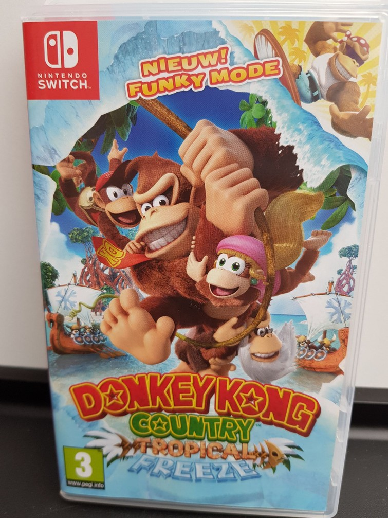 Nintendo Switch Game - Donkey Kong Country