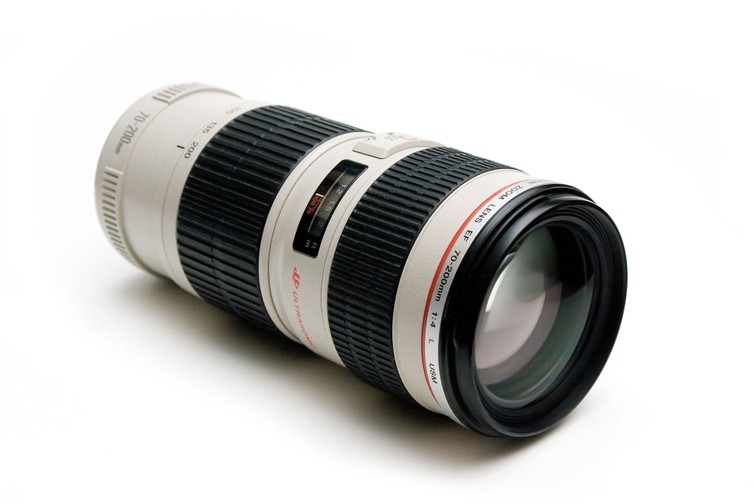 Canon 70-200 mm Telelens / Zoomlens / Objectief