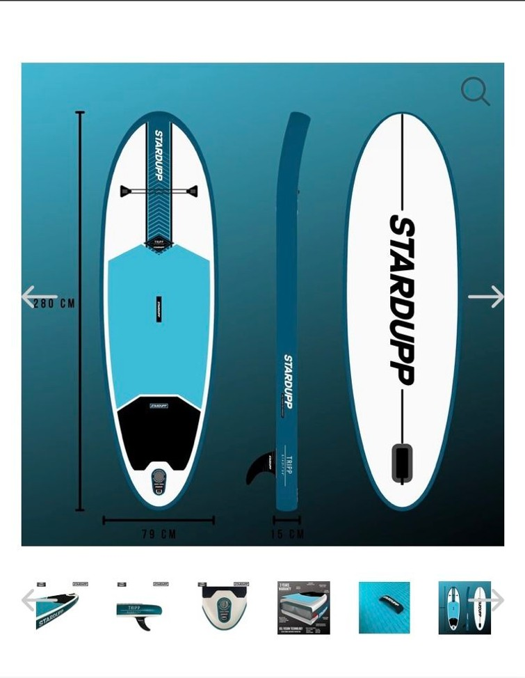 New SUP board for rental