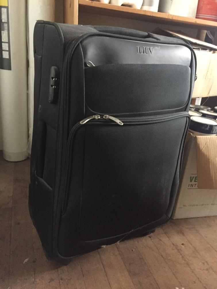 Koffer grote rolkoffer