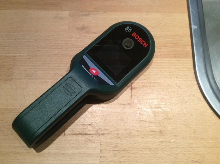Bosch leiding detector