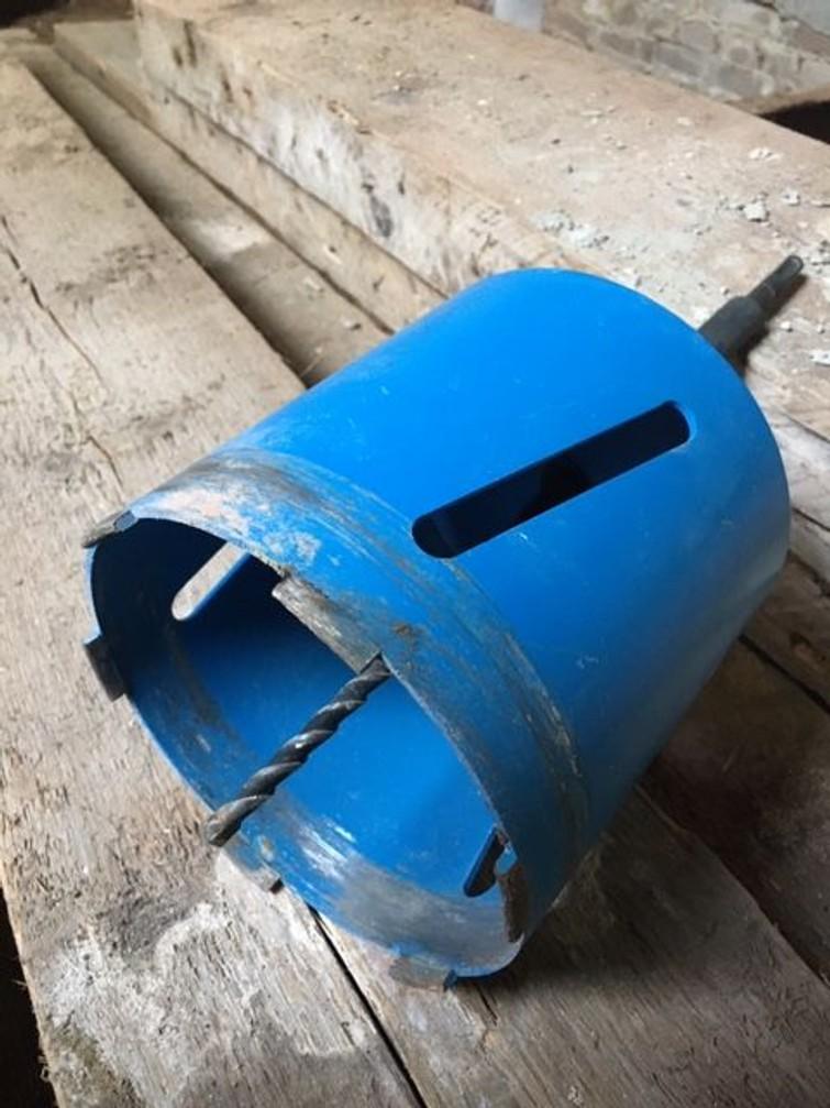 Gatenboor of gatenzaag voor steen 150 mm