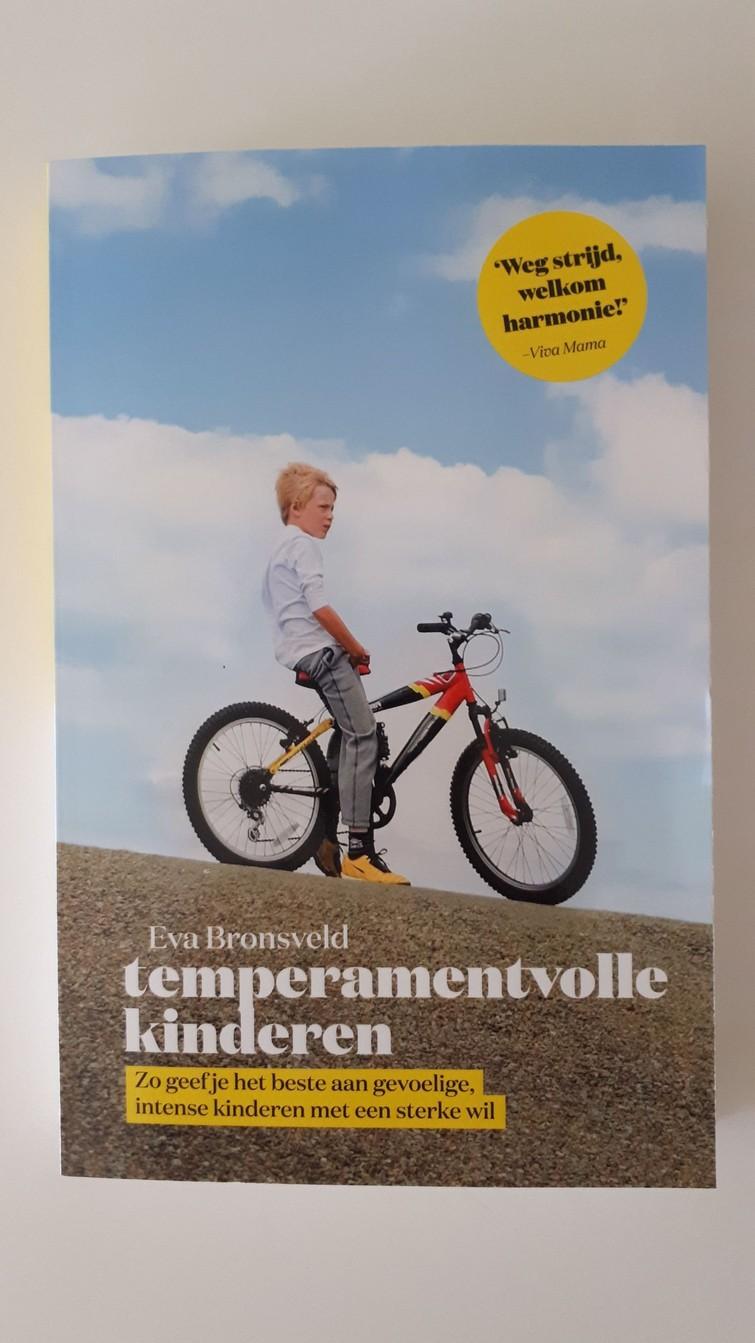 Boek - temperamentvolle kinderen - E. Bronsveld