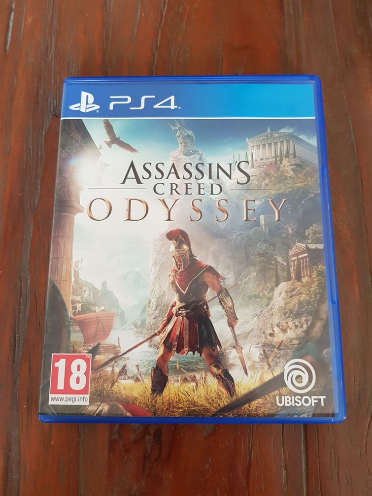 Assasins creed odyssey ps4