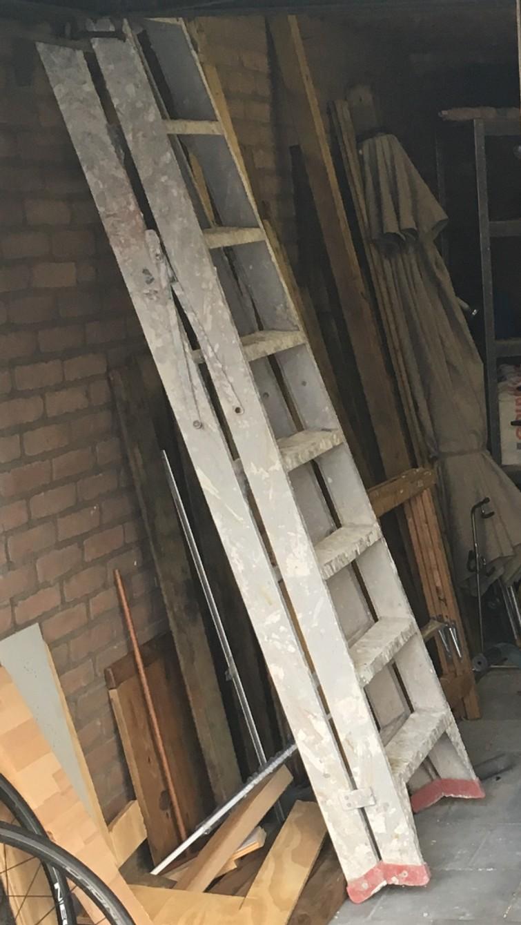 Ladder / dubbele trap