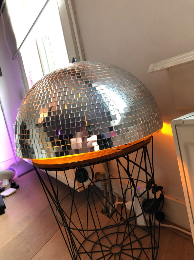 discobol (half rond)
