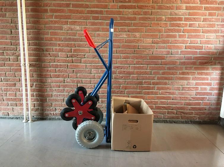 Steekwagen traploper 300kg