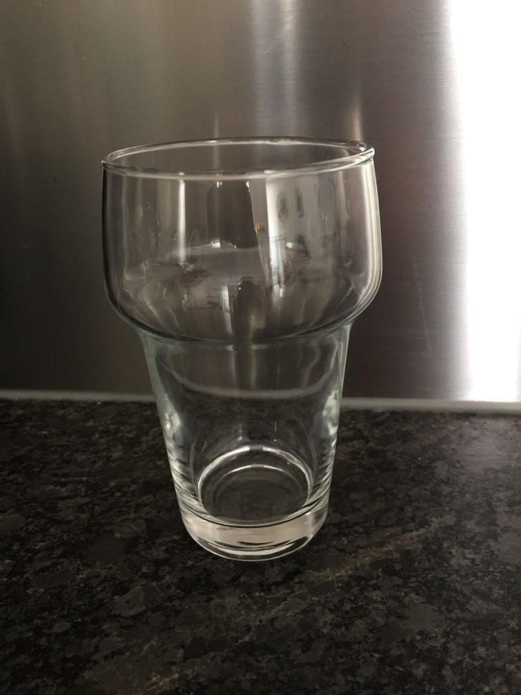 Bierglazen, stapelbaar
