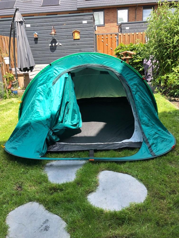 Tent 3 personen (pop-up)