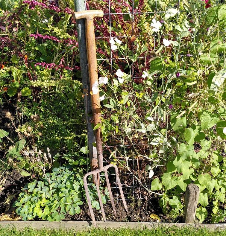Spitvork | Plattander | Garden fork | Digging fork
