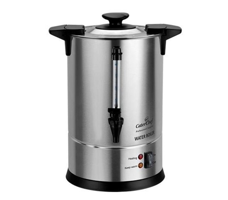 Waterkoker CaterChef RVS | Non-Drip Tapkraan | 10 Liter