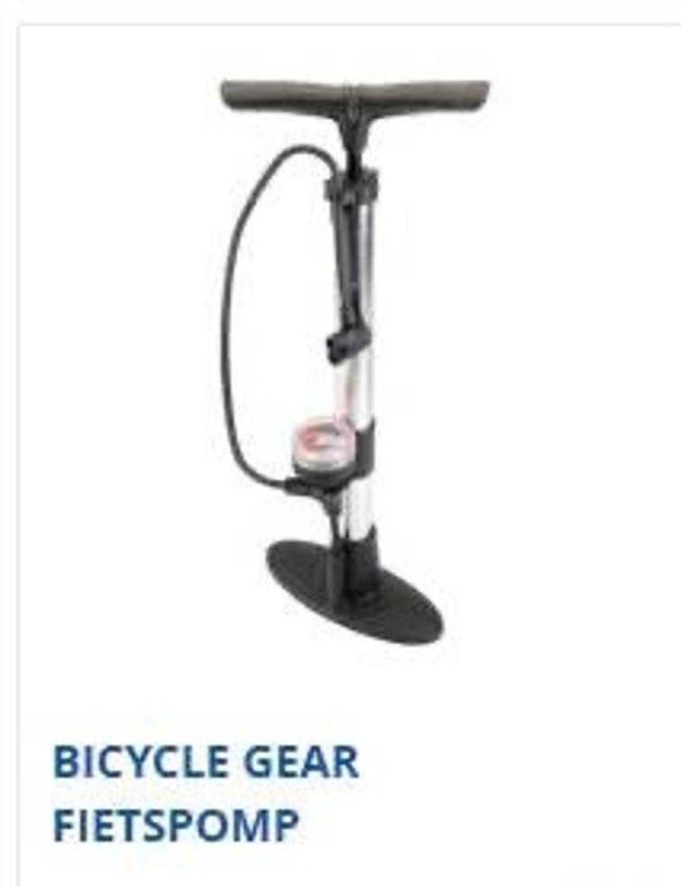 fietspomp met dubbele aansluiting gewoon en autoventiel