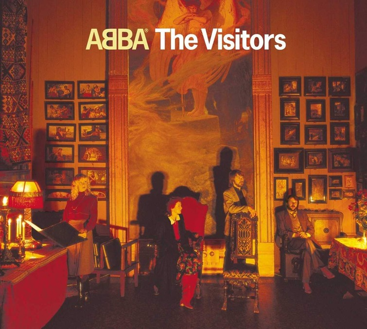 ABBA - THE VISITORS (Album CD) 30 November 1981. - CD