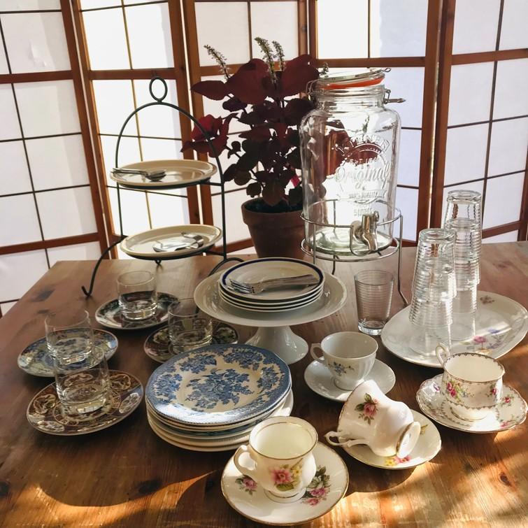 High-tea servies
