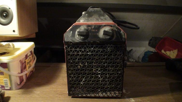 Bouwdroger / Heater 2000 watt