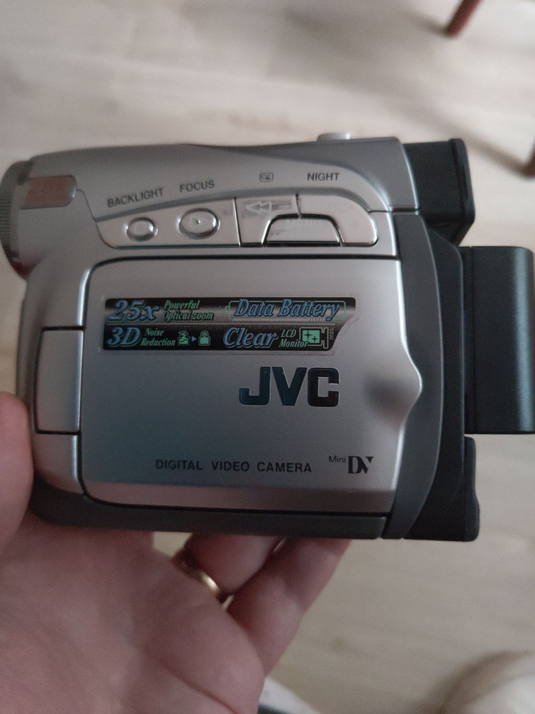 Mini dv video camera