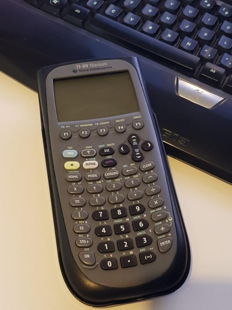 Grafische Rekenmachine TI-89 Titanium