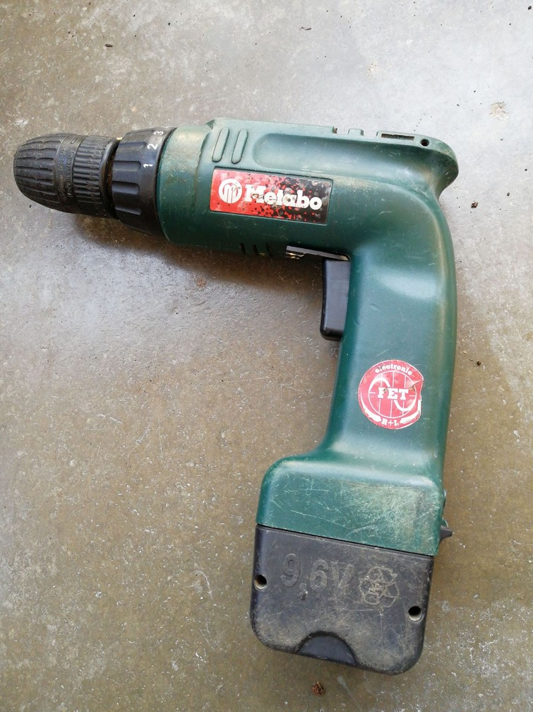 Accuboormachine Metabo 9,6V
