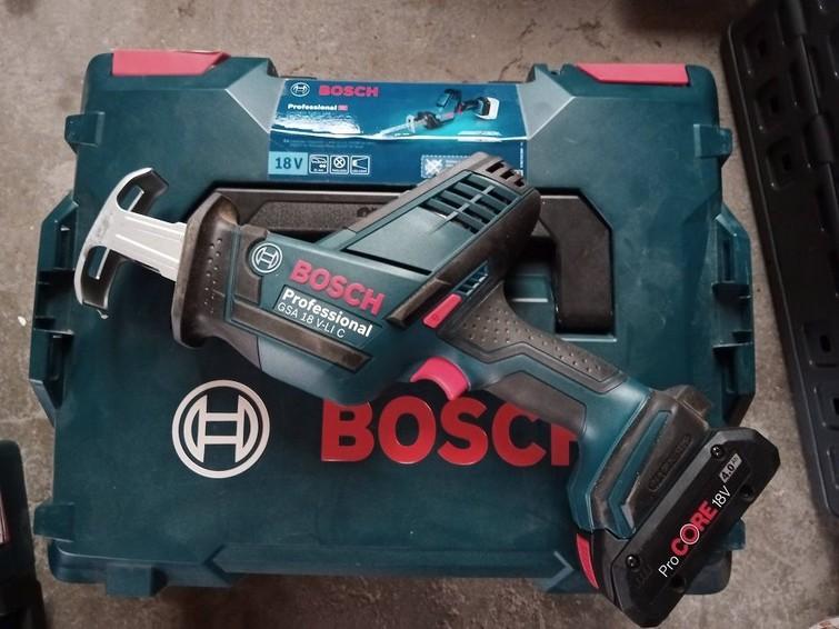 Bosch Repricozaag GSA 18 V-LI C