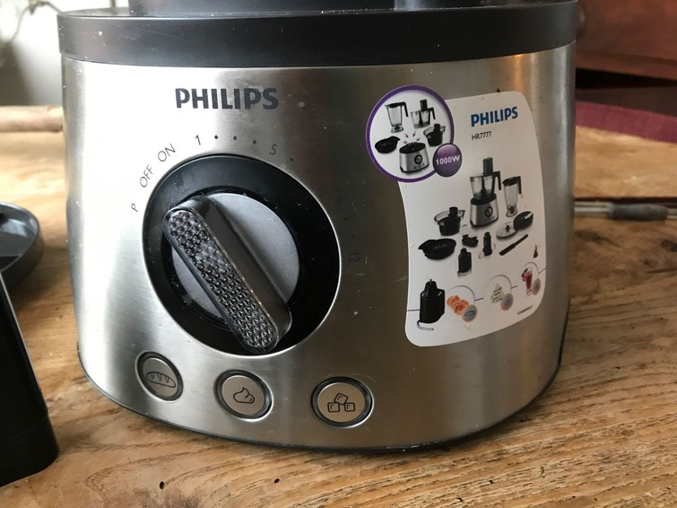 Keukenmachine philips, kan alles ...