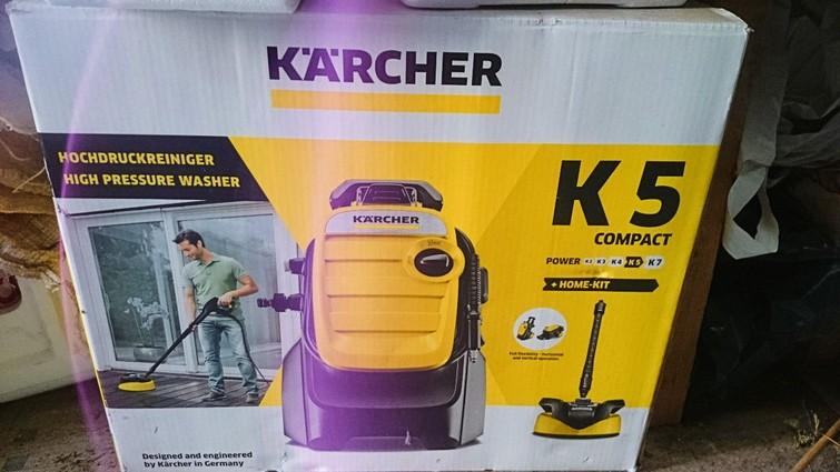 Hogedrukreiniger Kärcher K5 Compact