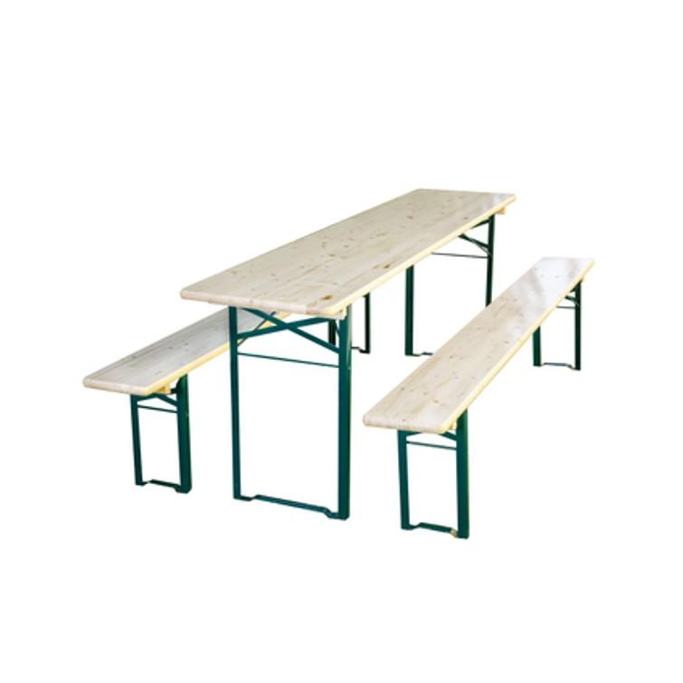 (Nieuwe ) biertafel 180cm met 2 banken!