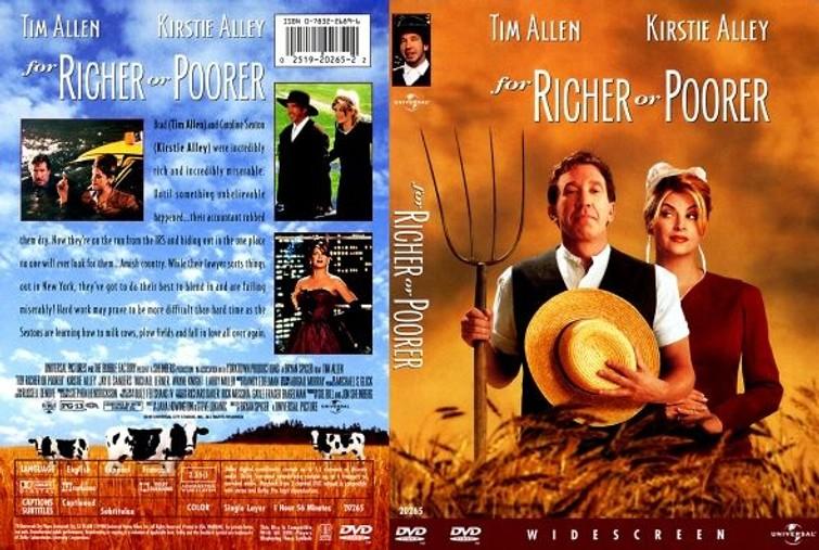 For Richer Or Poorer (Kirstie Alley &  Tim Allen) 1997. - DVD
