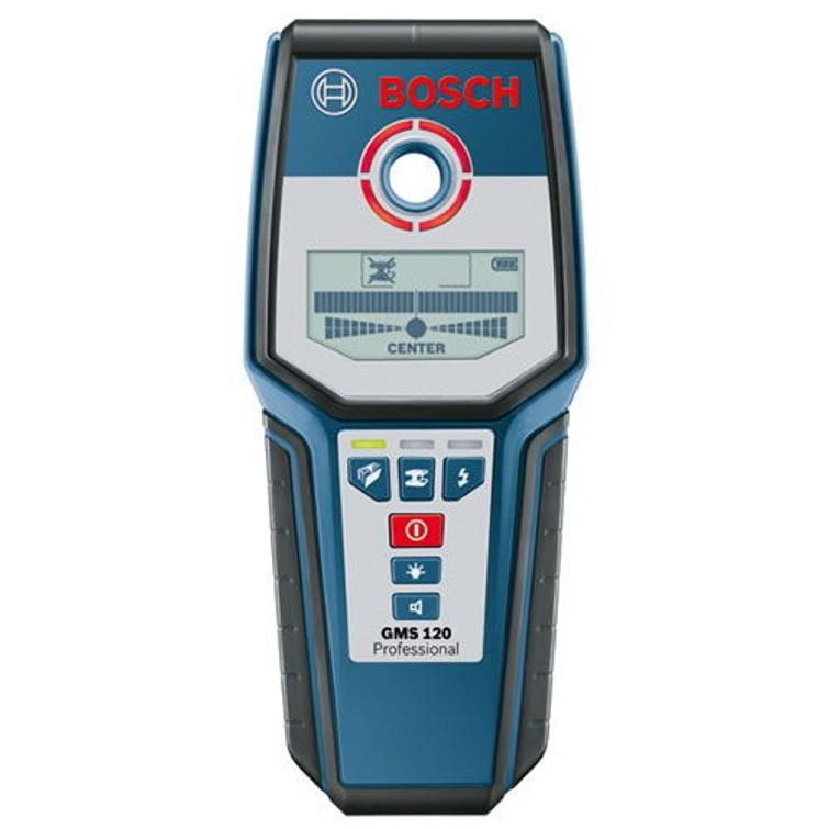 Multidetector (elektra, metaal, hout) Bosch blauw GMS 120