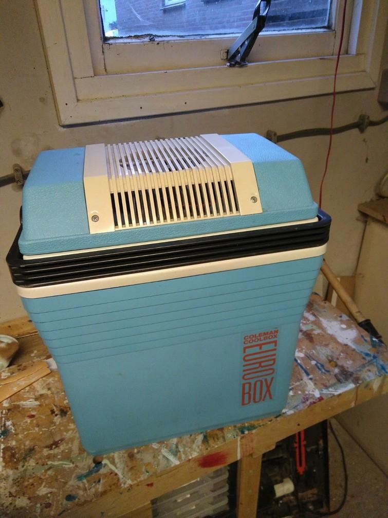 Elektrische koelbox 12V en 220V