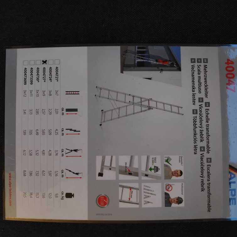 Reformladder 3x9