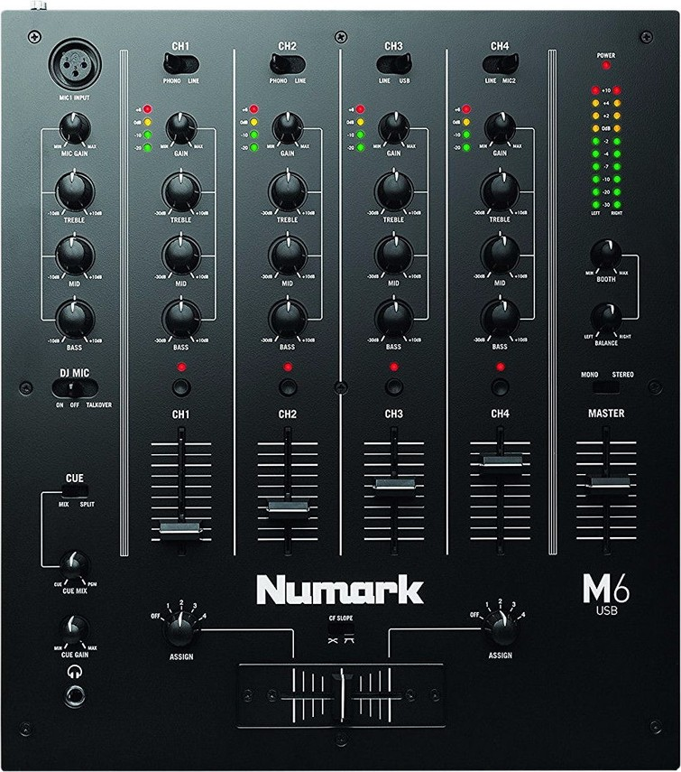 Dj Mixer Numark m 6