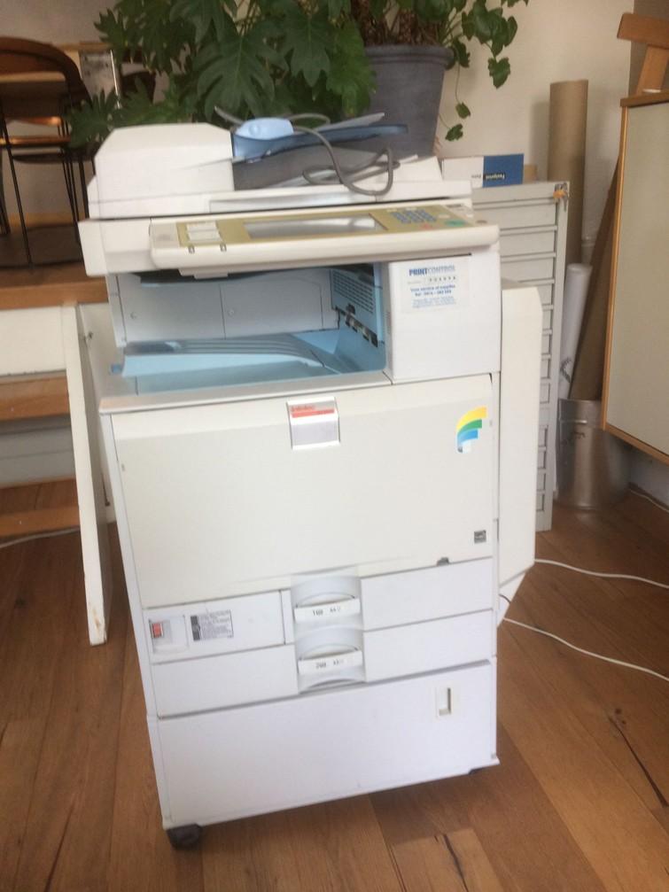 Ricoh kopieermachine en printer